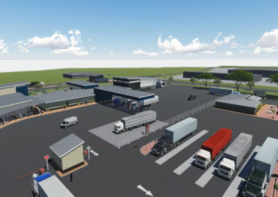 CDC IDZ Truck Staging Development